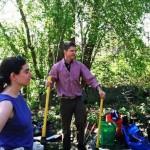 Volunteers at Bussey Brook Meadow