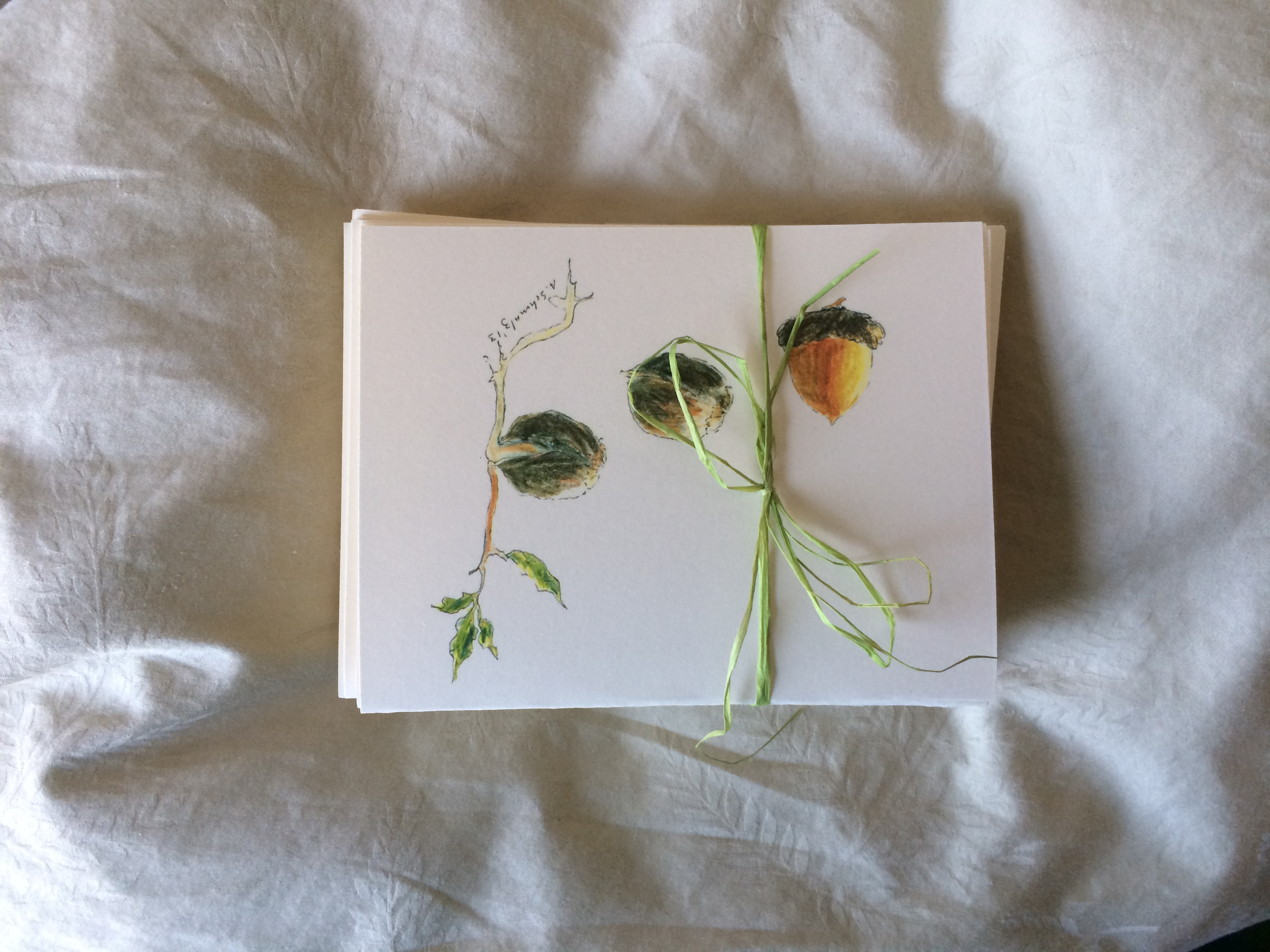 Note Cards Available